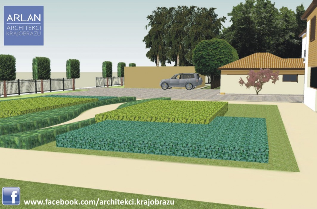 Ogród W Stylu Krajobrazowym Jarużyn Architekci Krajobrazu